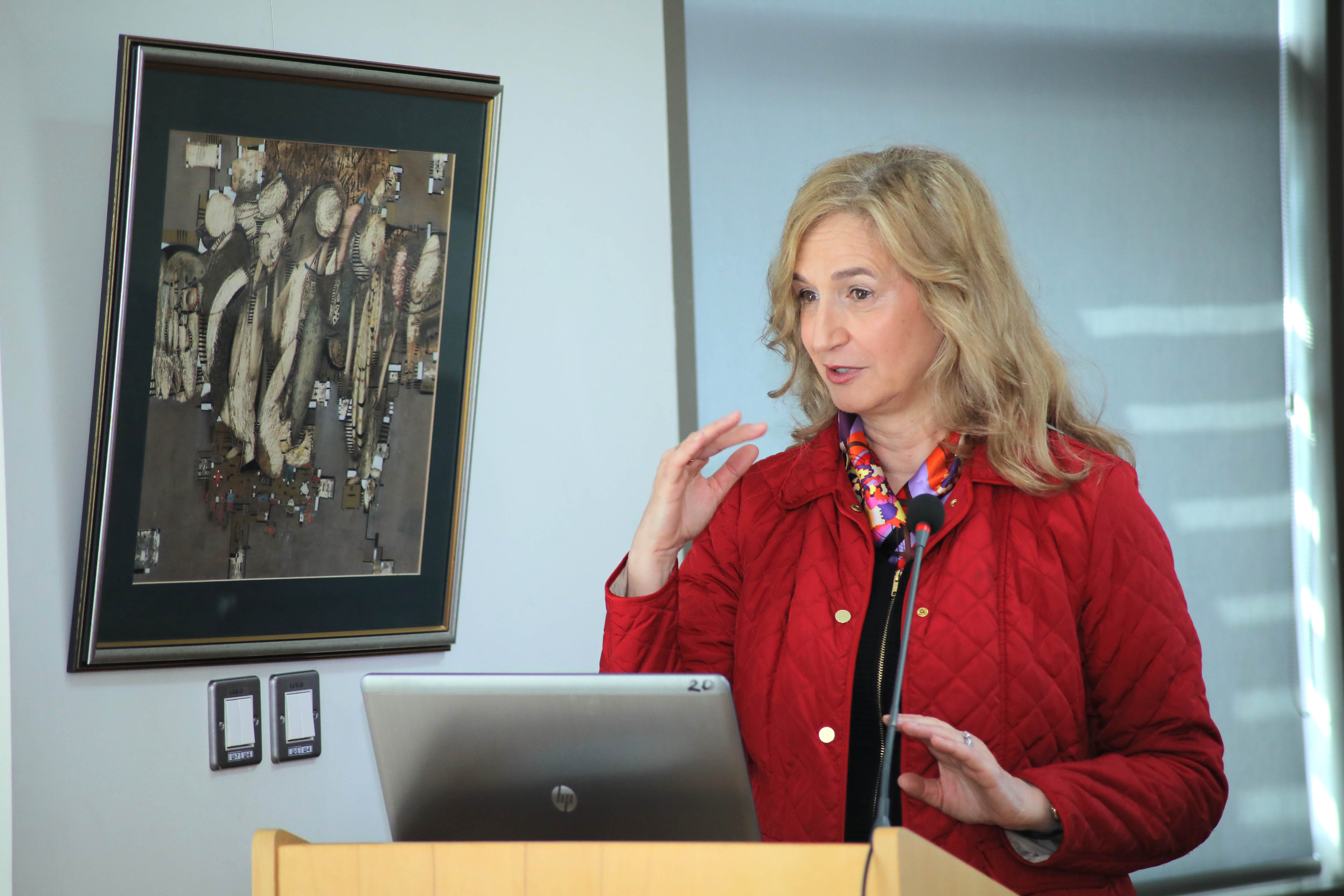 Professor Melita Kovacevic from the University of Zagreb Lectures on Doctoral Studies