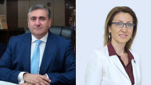 AUA Alumni Arthur Khachatryan (MBA '96) and Mane Tandilyan (MBA '02) Appointed RA Ministers