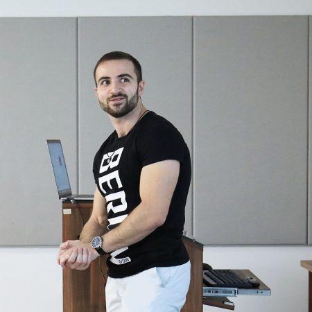 Tigran Gasparian, senior software engineer at Google, Munich, Germany