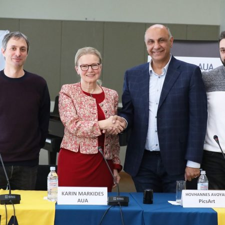 Aram Hajian, Karin Markides, Hovhannes Avoyan, Gurgen Khostikyan
