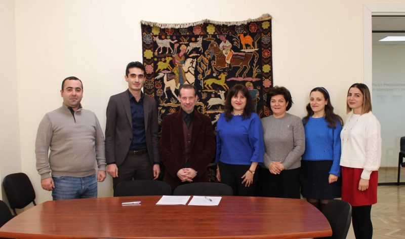 AUA Open Education and Startup Armenia Foundation Sign an MoU