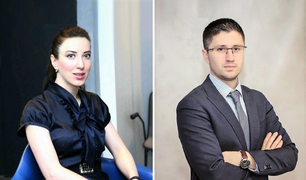 Siranush Sahakyan and Levon Gevorgyan