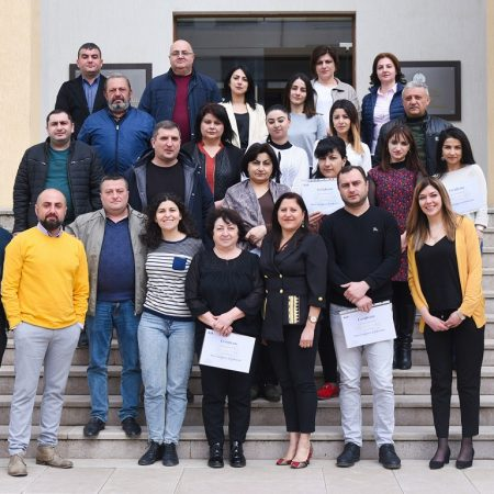 employees of the Ministry of Labor, Social and Resettlement Affairs of the Republic of Artsakh
