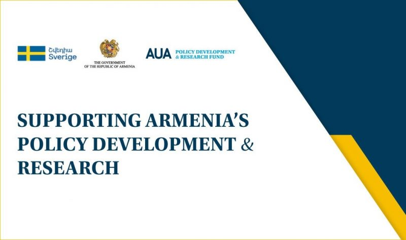 Supporting Armenia's Policy Development and Research
