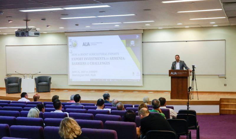 AUA ANAU Agriculture Seminar