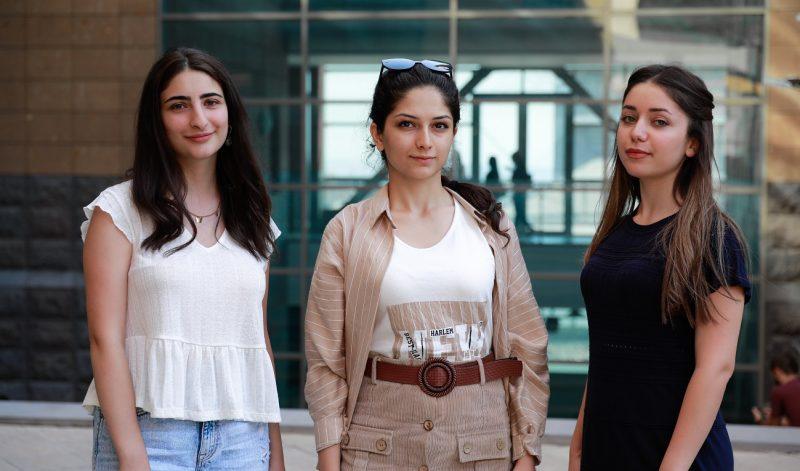 Lilit Shahverdyan, Lilit Beglaryan, Angelina Aghajanyan